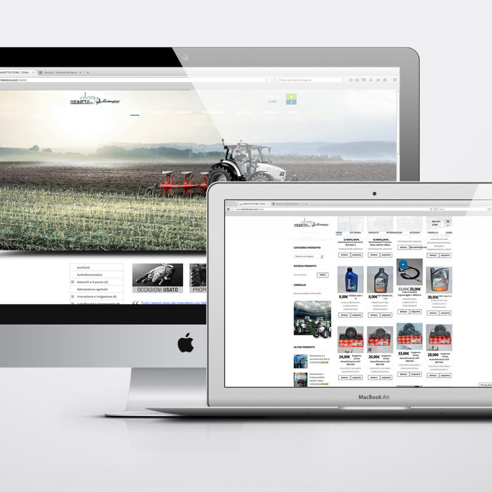 Sito Web ColavittoStore