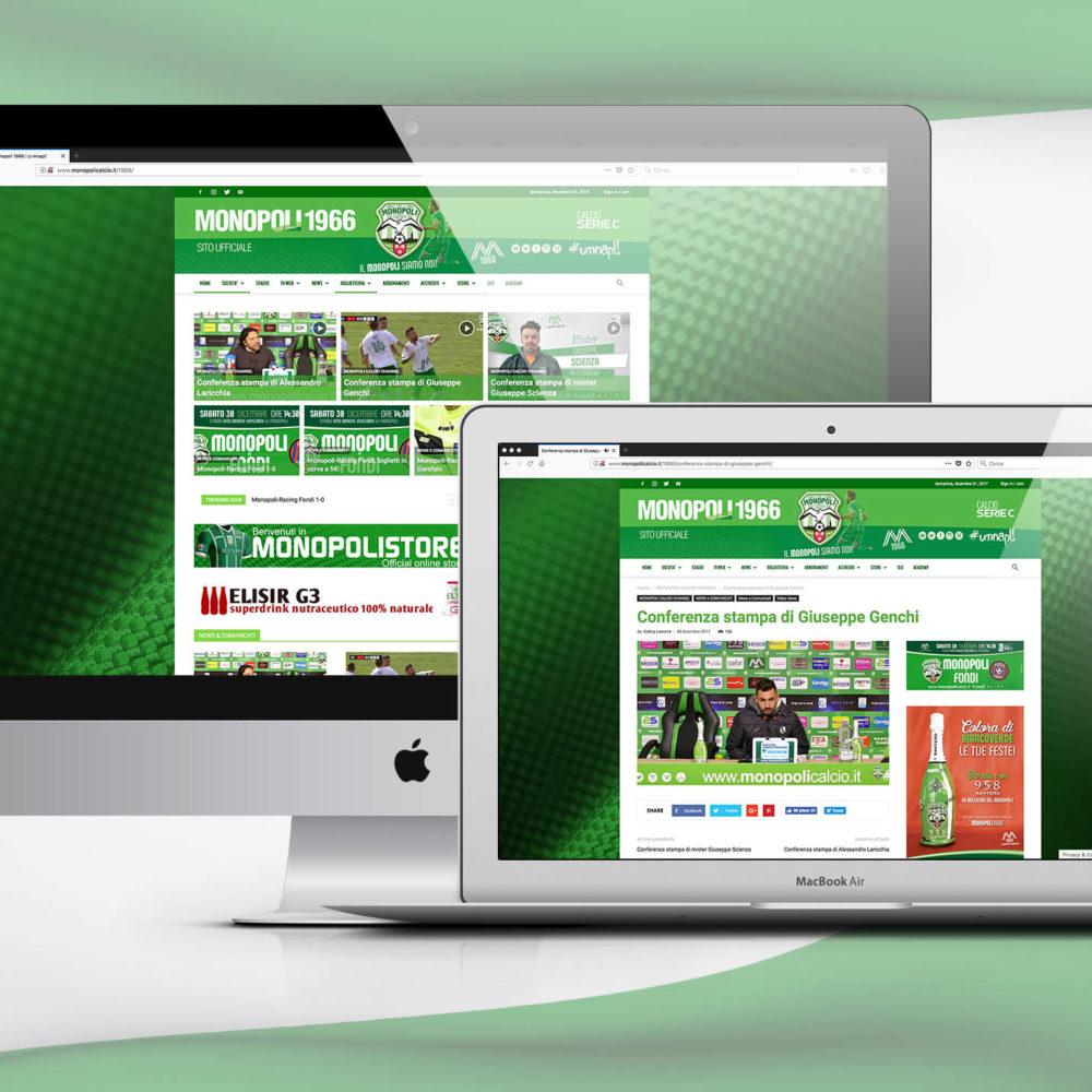 Sito Web Monopoli Calcio