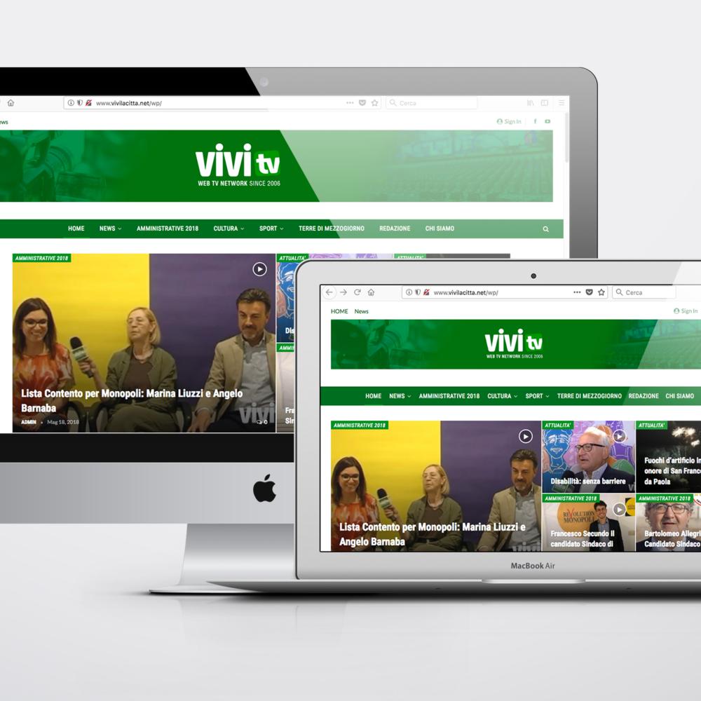Sito web ViviTv network