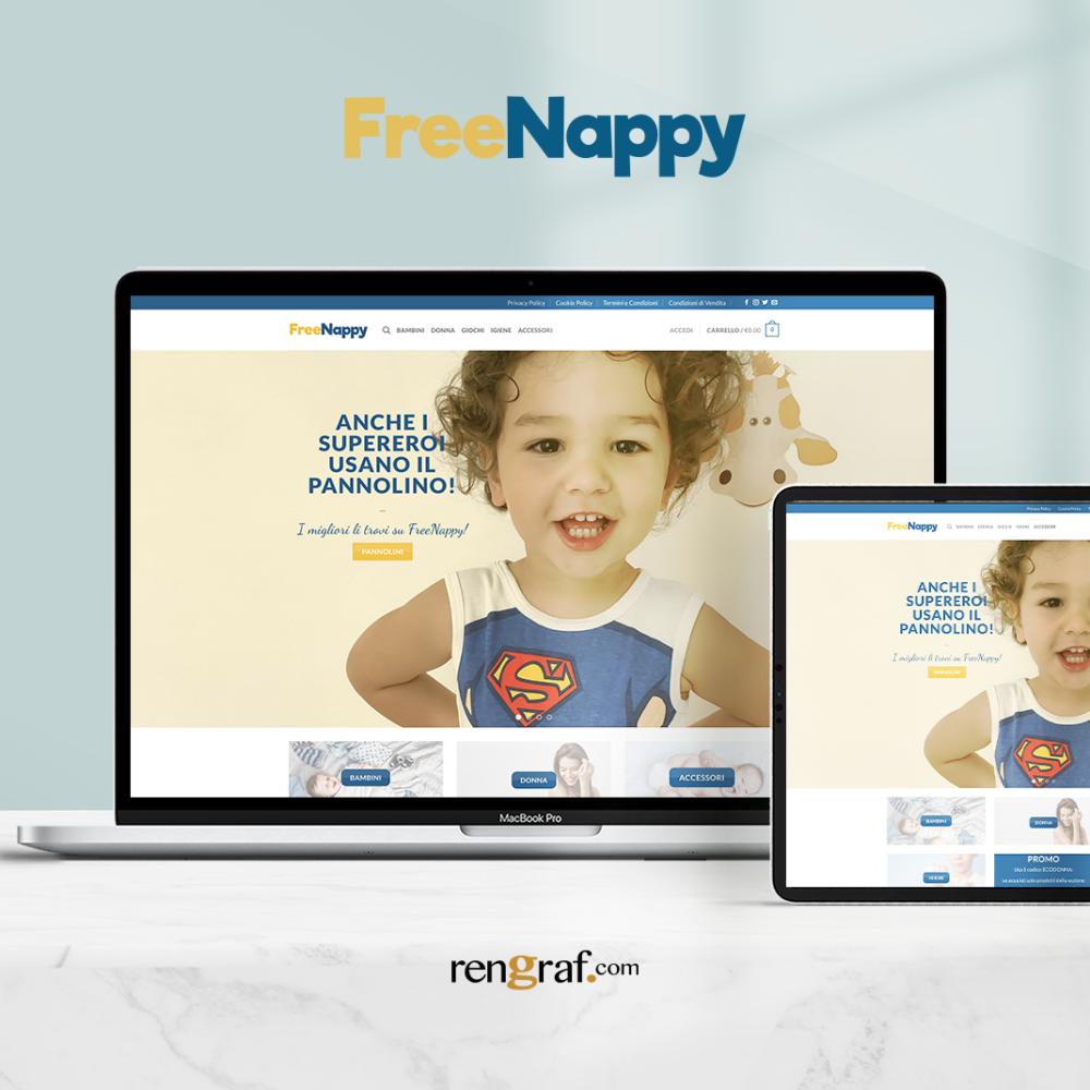 Nuovo Sito E-Commerce Freenappy